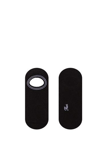 Mavi 2Li Babet Çorabı Seti Siyah